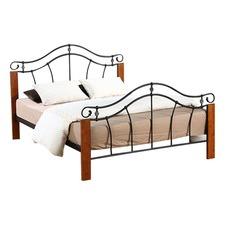 Antique Oak & Black Maria Bed