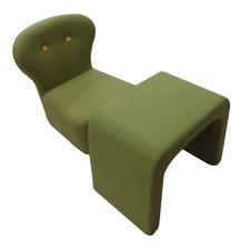 Green Kids Chair & Table Set
