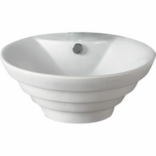Cairo 4 Stepped Above Counter Ceramic Basin