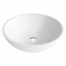 Lexy Above Counter Cast Stone Basin
