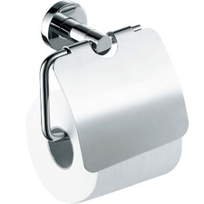 Chrome Michelle Toilet Paper Holder with Flap