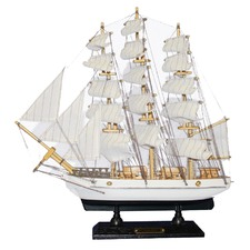 Constitution Wooden Sailing Boat