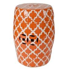 Istanbul Decorator Seat Orange