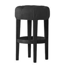 76cm Black Taffy Breakfast Stool