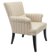 Viva Arm Chair Pinstripe