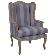 Wing Chair Stripe