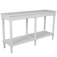 Santa Maria Sofa Table White