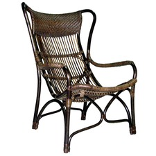 Natural Rustic Carver Armchair