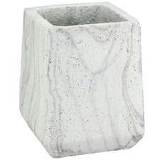 Monte Marbled Cement Planter