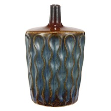 Tuscan Textured Ceramic Vase