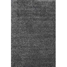 Austin Plush Charcoal & Anthracite Shaggy Rug
