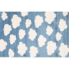 Sea Blue Piccolo Clouded Rug