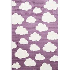 Purple Piccolo Clouded Rug