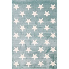 Turquoise Piccolo Star Rug