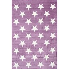 Purple Piccolo Star Rug