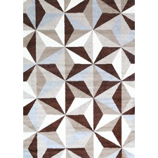 Brown Pablo Geometric Rug