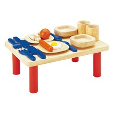 Children's Wooden Dining Table Set