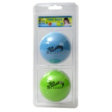 Rubber Balls (Set of 2)