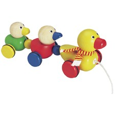 Duck Family Pull Toy