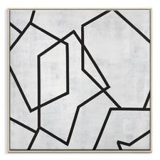 Geometric 5 Framed Print