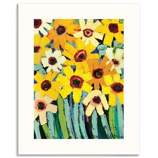 RosyS Daisies Wall Art