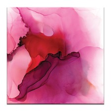 Cloudy with a Chance of Pink Printed Wall Art