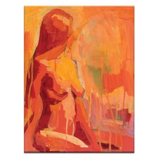 Fire Lady Printed Wall Art