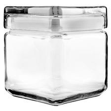 Anchor Hocking 947ml Stackable Square Storage Jar