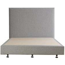 Light Grey Luca Warwick Bed Base