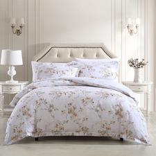 Natural Lorene Cotton Quilt Cover Set