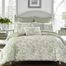 Sage Natalie Cotton Quilt Cover Set
