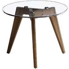 Sophia Glass Side Table