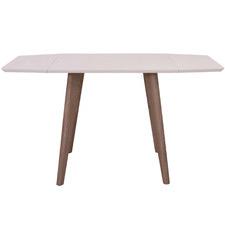 White Bondi Foldable Dining Table
