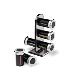 Zero Gravity Magnetic Spice Stand 6 Canister