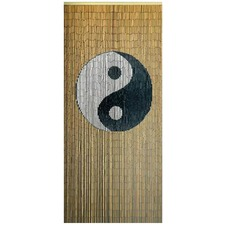 Yin and Yang Bamboo Curtain