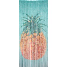 Pineapple Bamboo Single Curtain Panel
