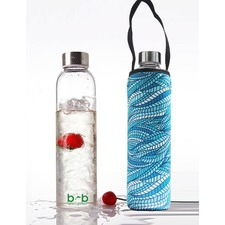 Glass is Greener 750ml Bottle and Carry Cover