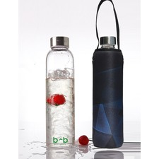 Glass Is Greener 750ml Bottle and Carry Cover Prism Print