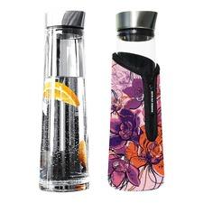 1L Glass Is Greener Carafe & Floral Snug Cover