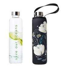 750ml Glass Is Greener Bottle & Orient Carry Cover