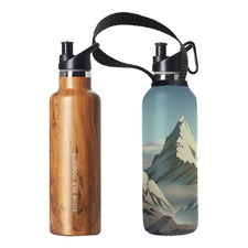 750ml Sports Cap Thermal Traveller Bottle & Everest Carry Cover