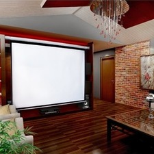 Electric Motorised Projector Screen TV with Remote