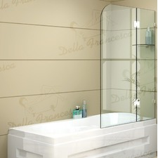 Frameless Bath Panel 1cm Glass Shower Screen
