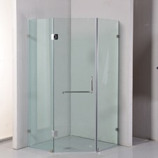 Frameless 1cm Glass Shower Screen