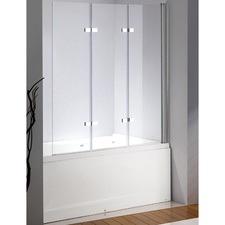 3 Fold Chrome Right Shower Screen Door