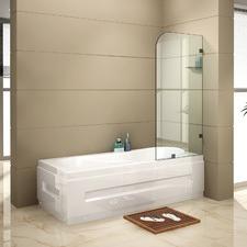 Frameless Bath Panel Glass Shower Screen