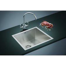 51 x 45cm Straight Cornered Single Sink Bowl