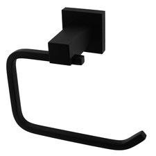 Matte Black Classic Toilet Paper Holder