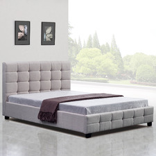 Remus Upholstered Double Bed Frame