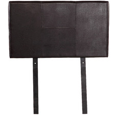 Ensemble Faux Leather Single Bedhead
